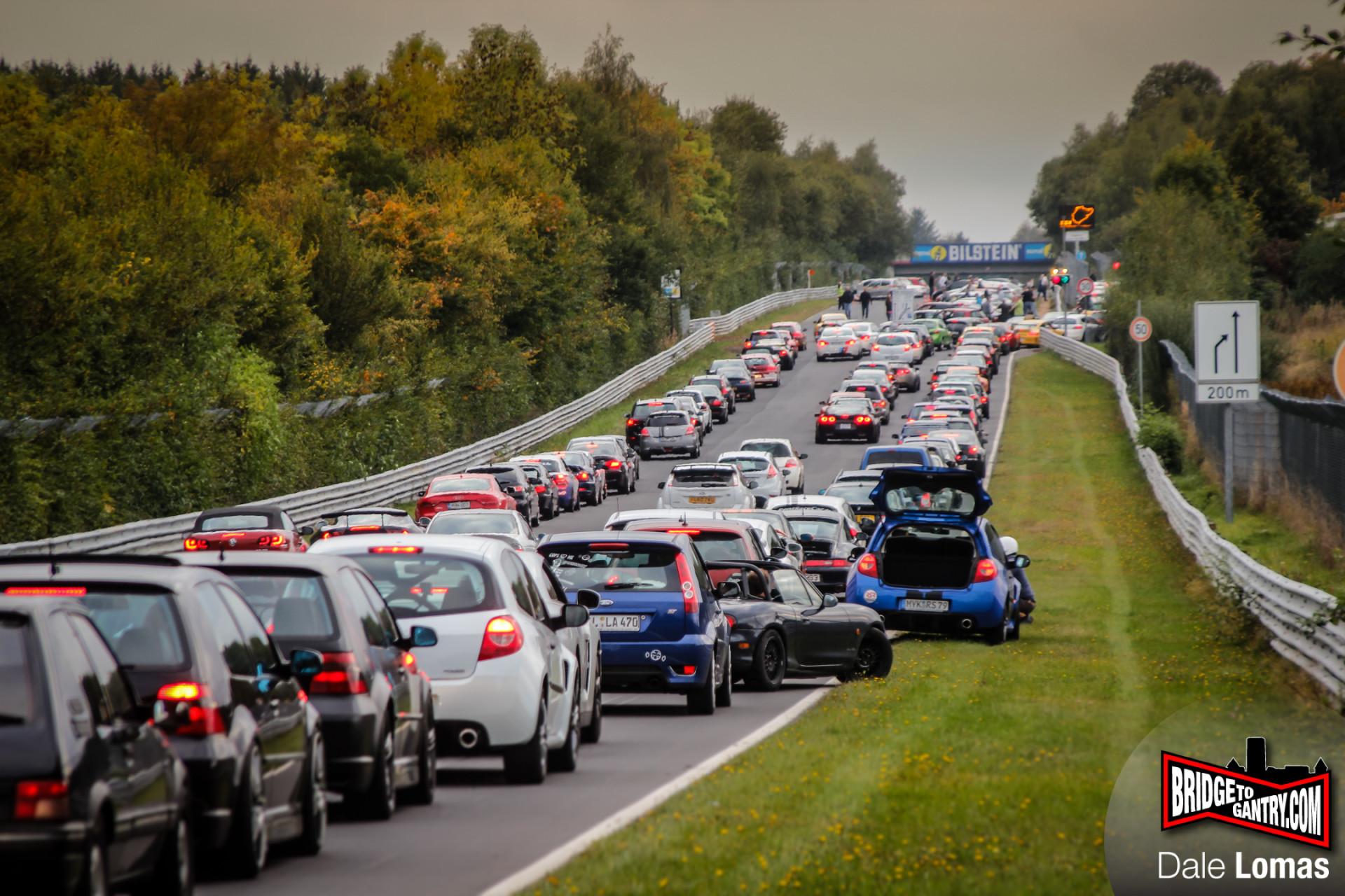 Nurburgring public session queue