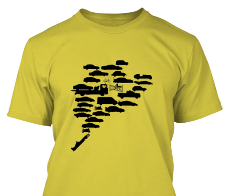 EXCLUSIVE BRIDGETOGANTRY NüRBURGRING T-SHIRT!