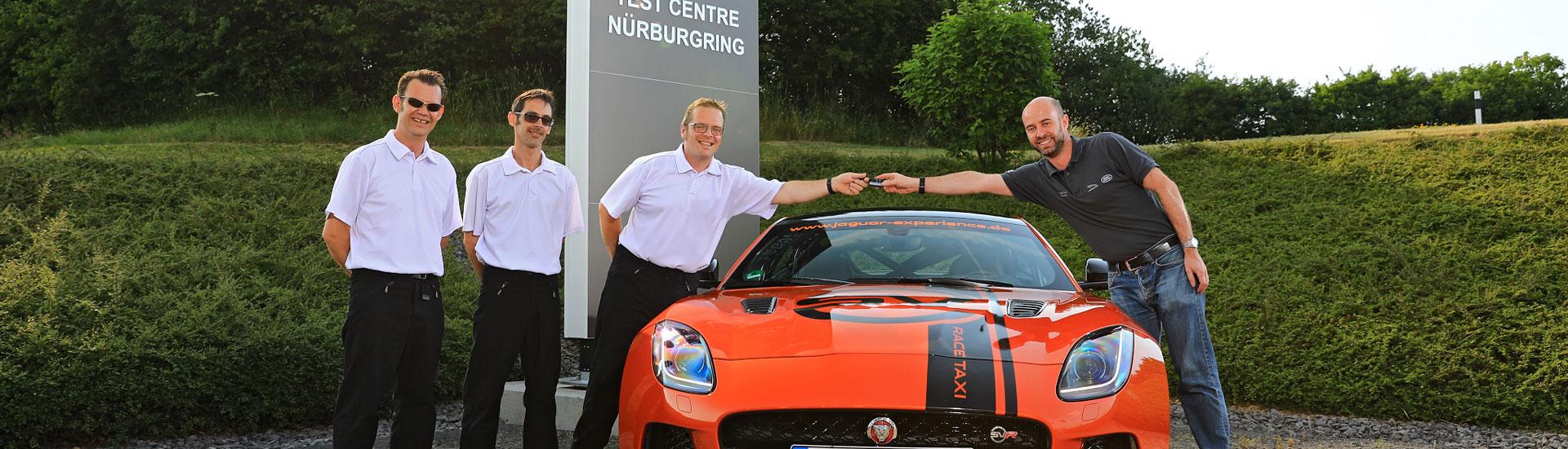 Jaguar Nürburgring Taxi Ftype SVR