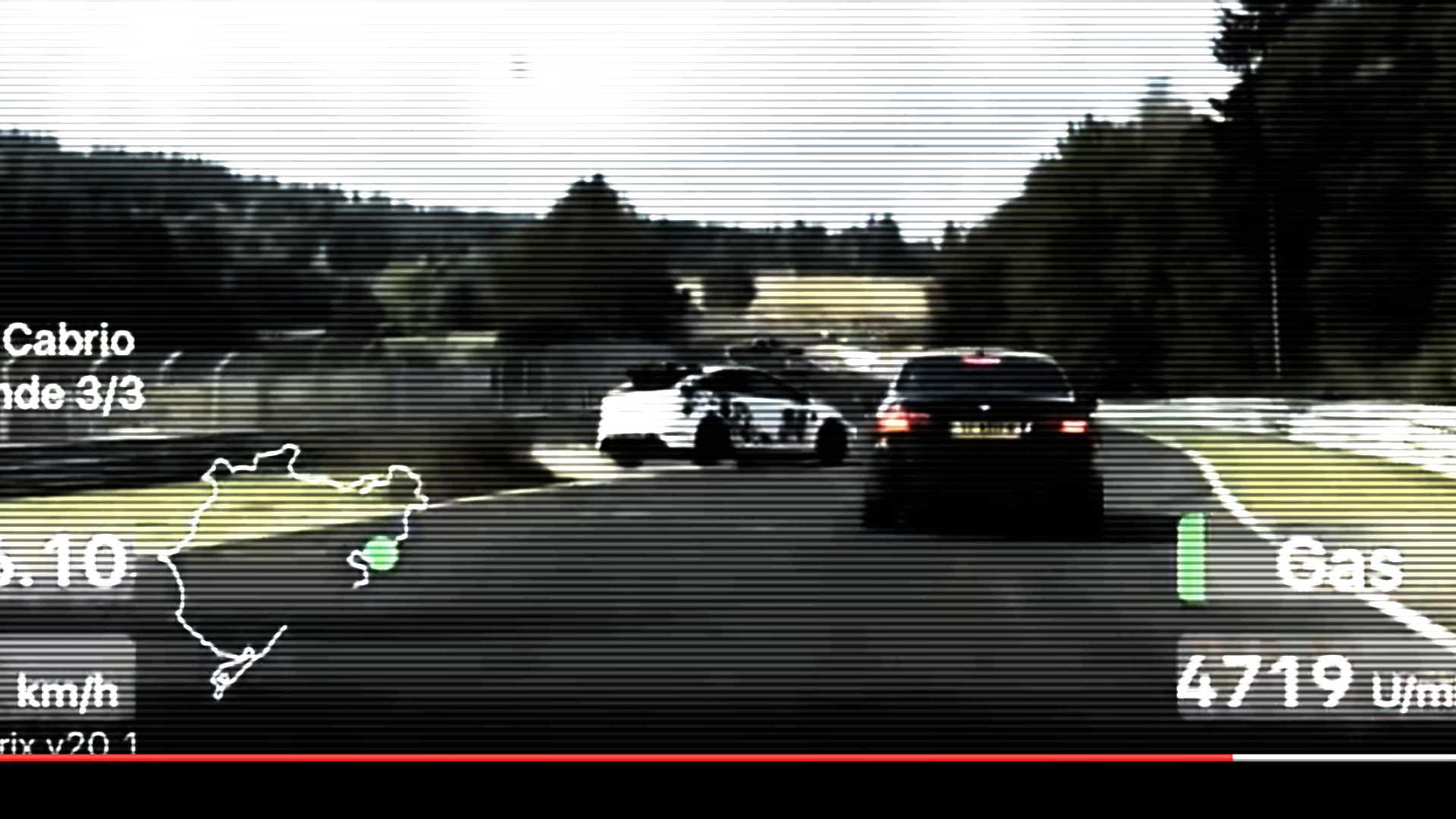 Ford Focus RS crash nurburgring Nordschleife