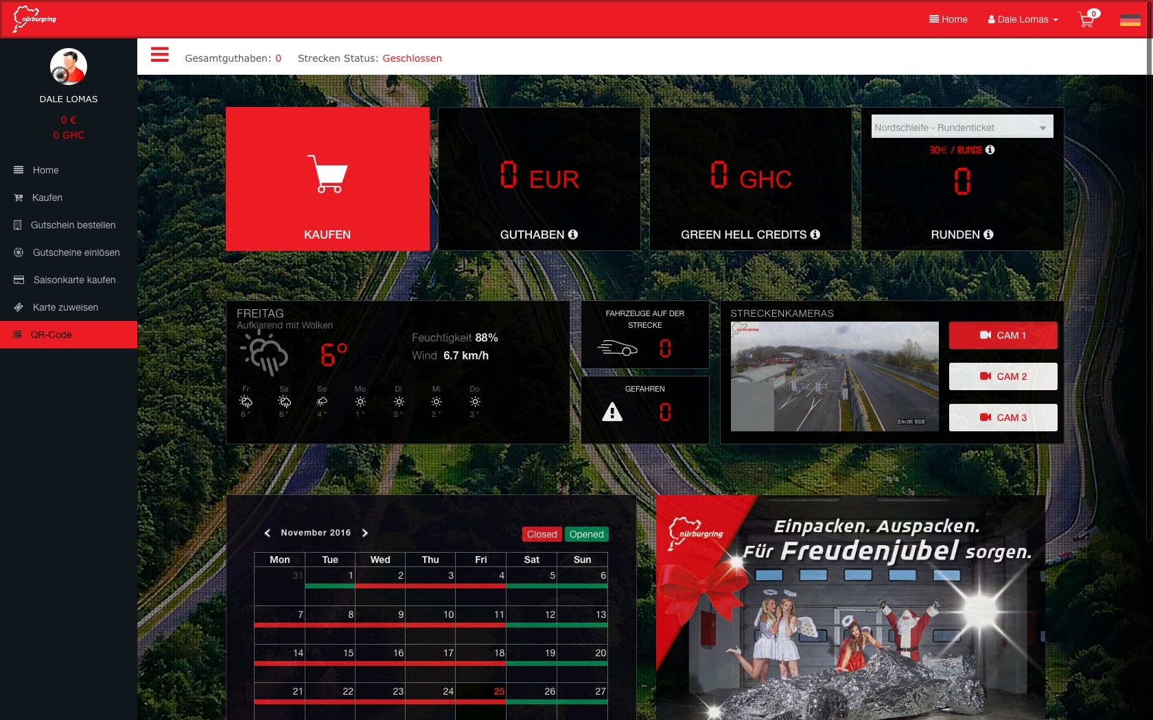 Screen Shot 2017 Nürburgring Ticket System
