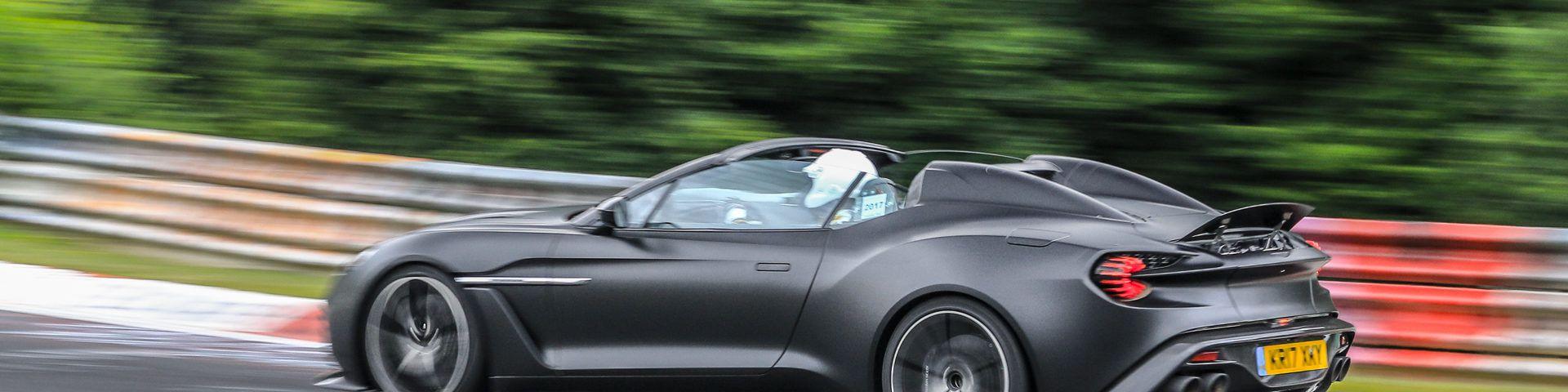 1 3million Aston Martin Vanquish Zagato Speedster Hits The