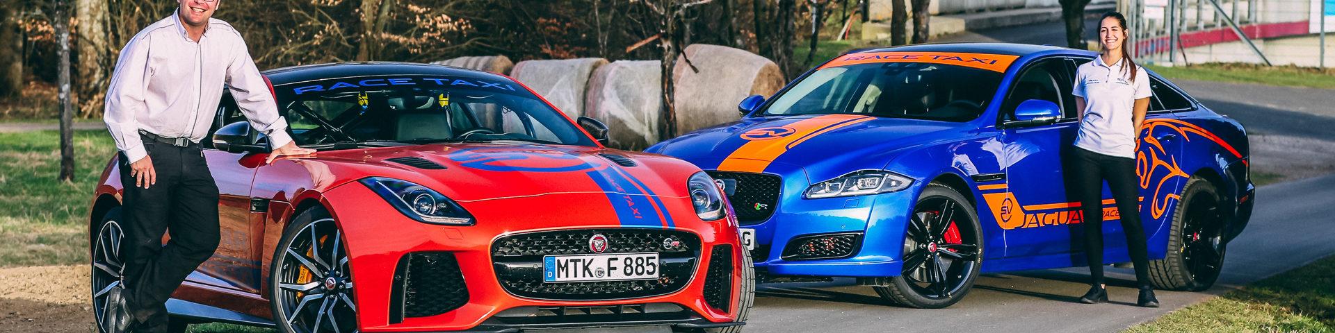 nurburgring ringtaxi jaguar
