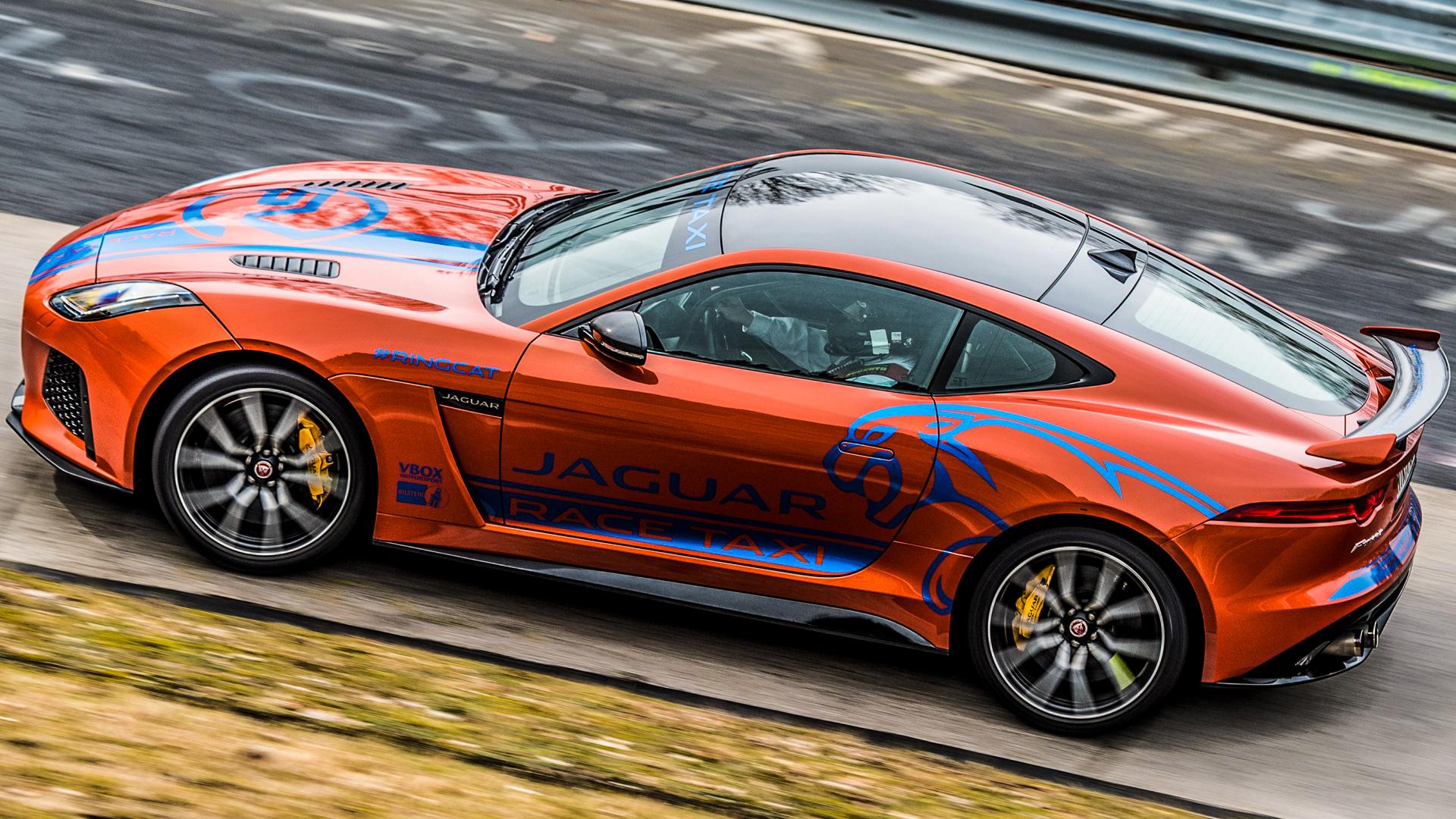 Jaguar F-Type SVR Race Taxi photo by Lorenzo!