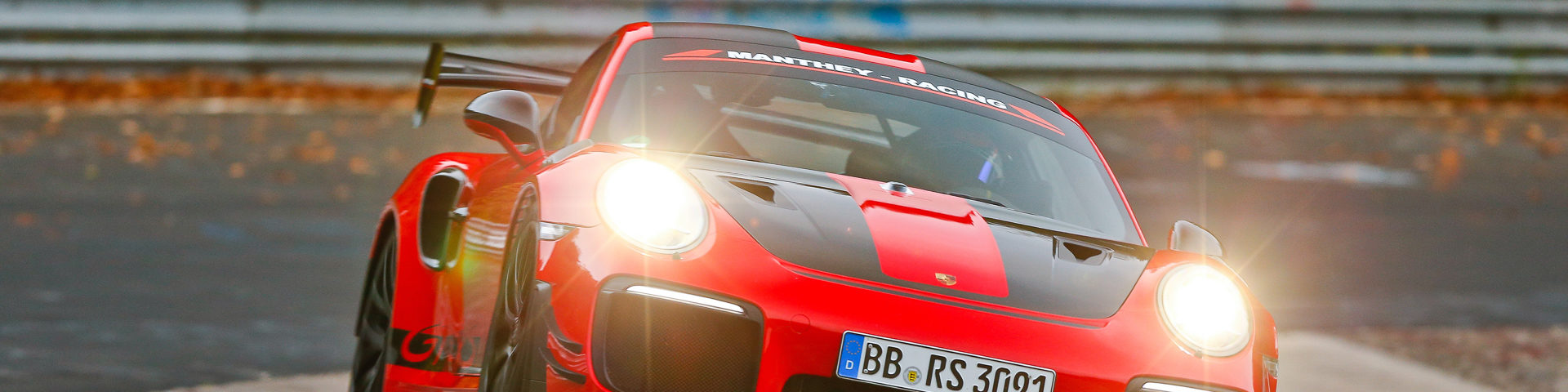 2018 Porsche GT2RS Nürburgring Record Manthey Racing