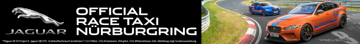 Official 'Ring Taxi for the Nordschleife by Jaguar RaceTaxi Nürburgring