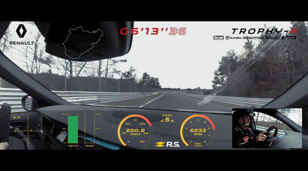 Renaultsport Just Set A New Fwd Production Lap Record On The