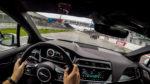 Jaguar Nürburgring RaceTaxi iPace onboard