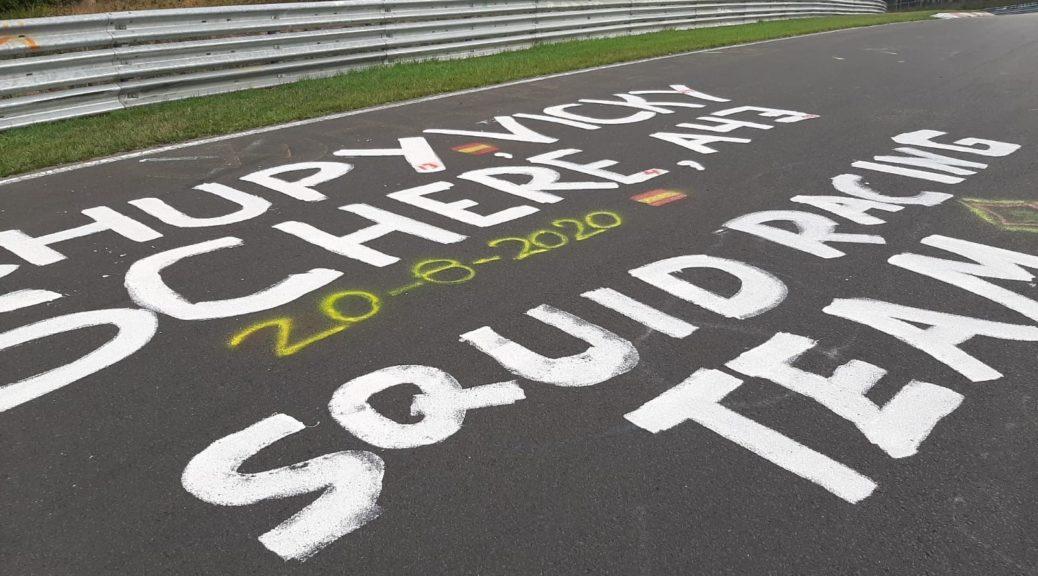 Nürburgring graffiti closes Nordschleife