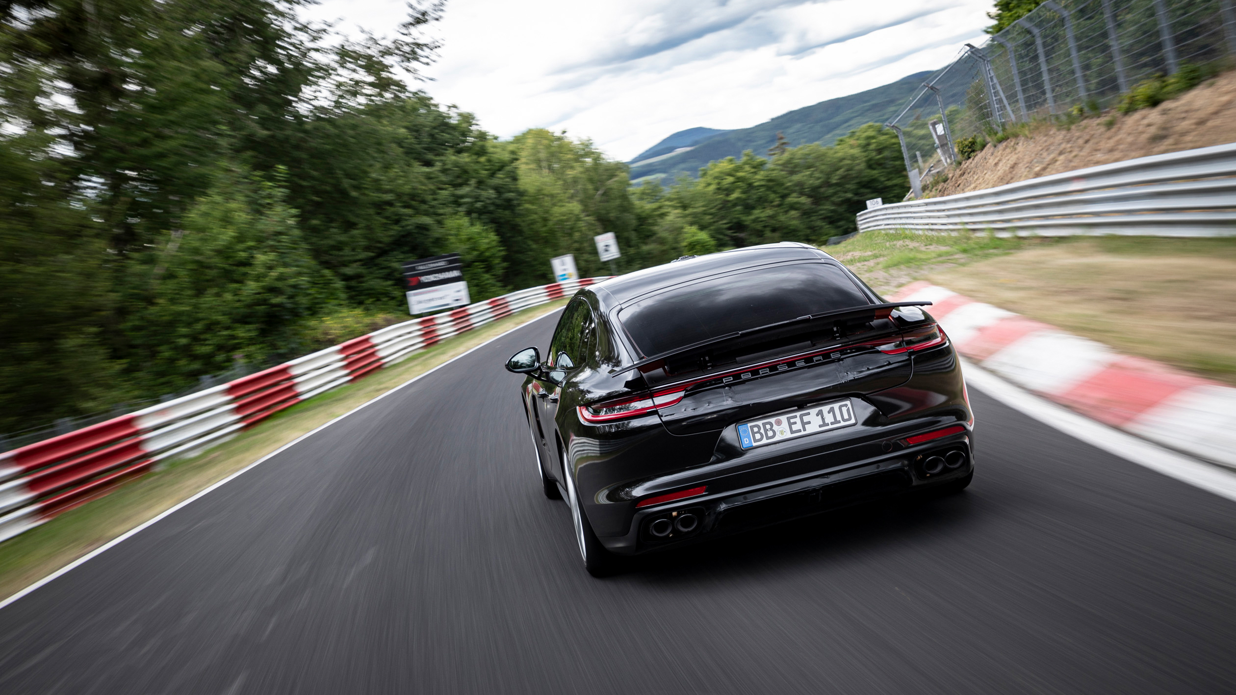 Nürburgring laptime set in Panamera S