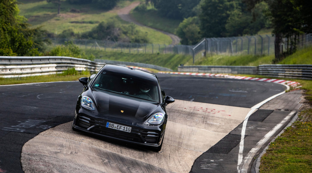 Porsche Panamera sets new Nürburgring Nordschleife laptime record