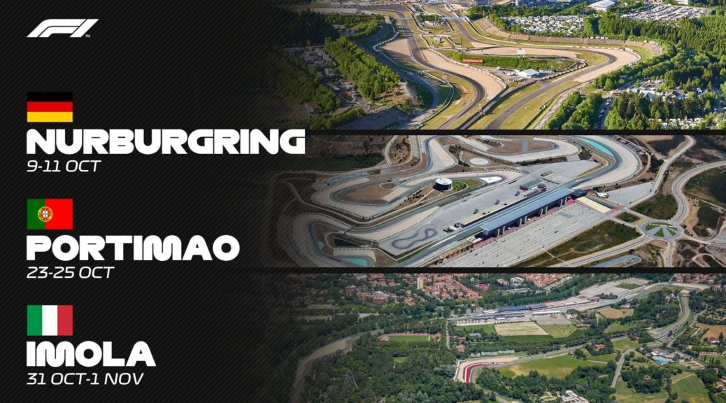 Nürburgring F1 tickets 2020