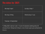 Spa Francorchamps Public Driving Dates