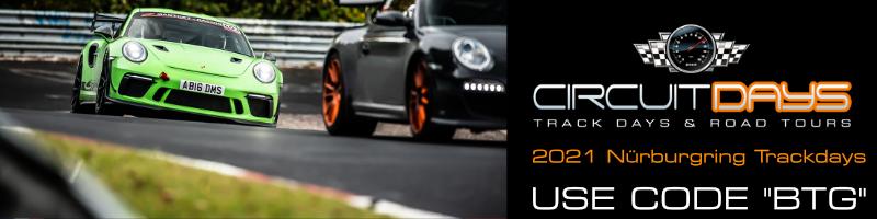 Nürburgring Circuit Days Discount Code 2021