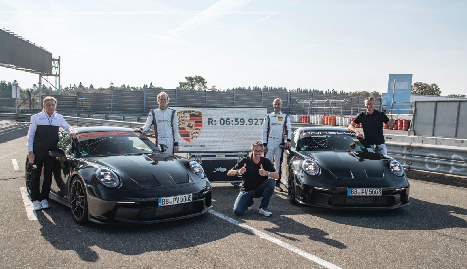 2021 Porsche 911 992 GT3 Nürburgring laptime